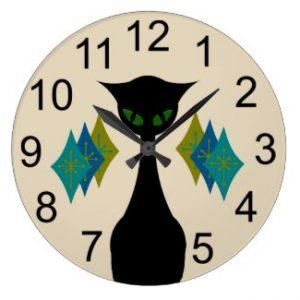 Cat Wall Clocks